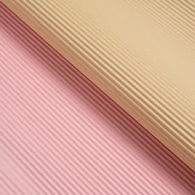 Бумага гофрированная, бежево-розовая, 50 см х 66 см Ош