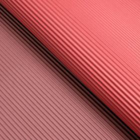 Бумага гофрированная, красно-тёмно-красная, 50 см х 66 см Ош