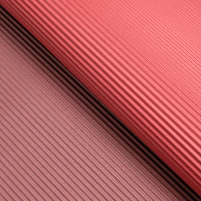Бумага гофрированная, красно-тёмно-красная, 50 см х 66 см