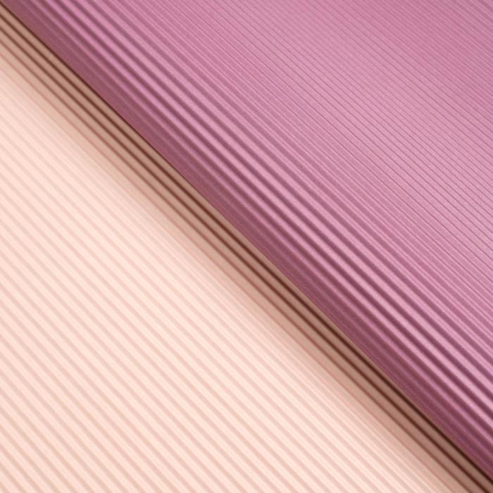 Бумага гофрированная, фиолетово-розовая, 50 см х 66 см