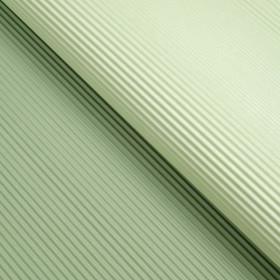 Бумага гофрированная, светло-тёмно-зелёная, 50 см х 66 см Ош