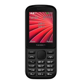 Сотовый телефон Texet TM-218, черно-красный