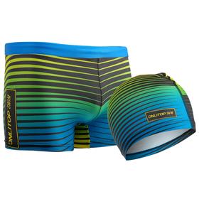 Комплект для плавания детский (плавки+шапочка) для мальчиков, размер 38, рост 146 см Ош