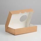 Упаковка для пончиков, 18,5 х 27 х 5,5 см
