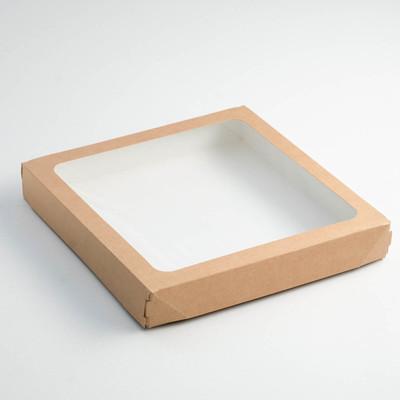 Контейнер на вынос, 26 х 26 х 4 см - Фото 1