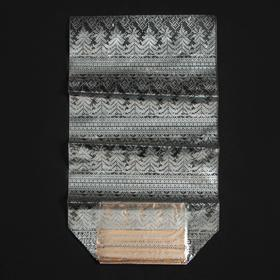 Пакет подарочный с жестким дном «Новогодняя вязка», 7 х 11 х 30 см Ош