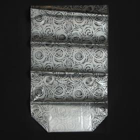 Пакет подарочный с жестким дном «Новогодние узоры», 7 х 11 х 30 см Ош