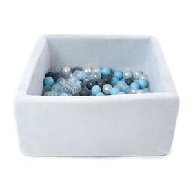 Сухой бассейн Airpool Box без шариков, цвет серый