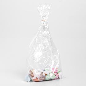 Пакет подарочный пластиковый «Новогодние мышата», 20 х 35 см Ош