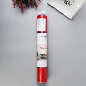 """Клеевой винил American Crafts """"Red"""" - 30.4 см х 1.2 м"""