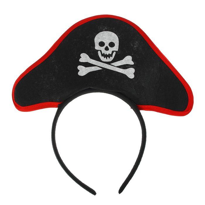 Карнавальный ободок Пиратка
