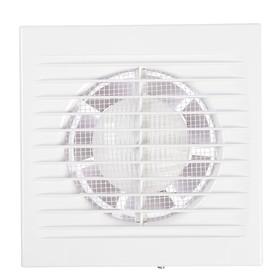 Вентилятор вытяжной РВС Сириус 100, d=100 мм, цвет белый Ош