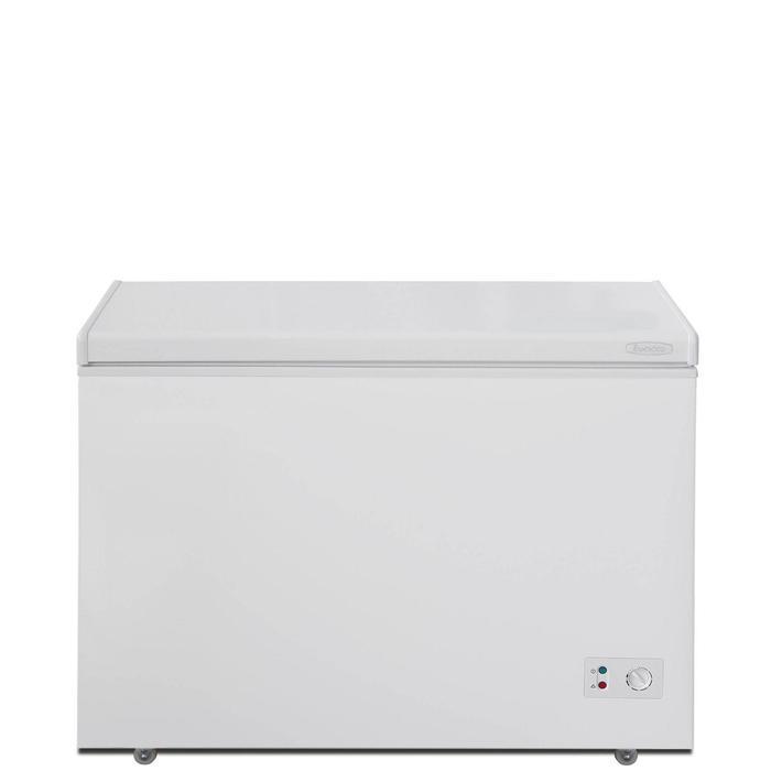 Морозильный ларь Бирюса 240KХ, 220 л, 1 корзина, глухая крышка, белый