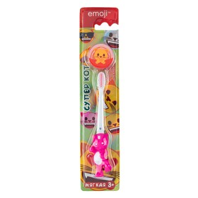 Зубная щетка Vilsen brush «Суперкот», детская Эмоджи, мягкая