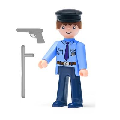 Игрушка «Полицейский», с аксессуарами, 8 см