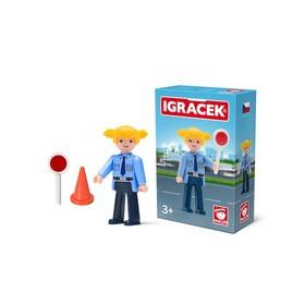 Игрушка «Женщина-полицейский», с аксессуарами, 8 см