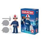 Игрушка «Пожарный», с аксессуарами, 8 см