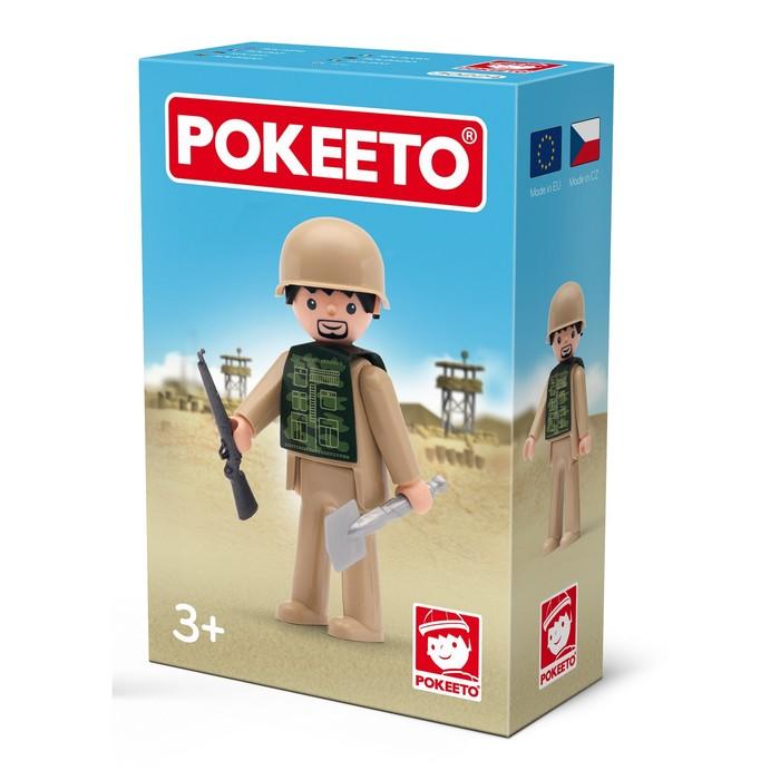 Игрушка «Солдат», с аксессуарами, 8 см