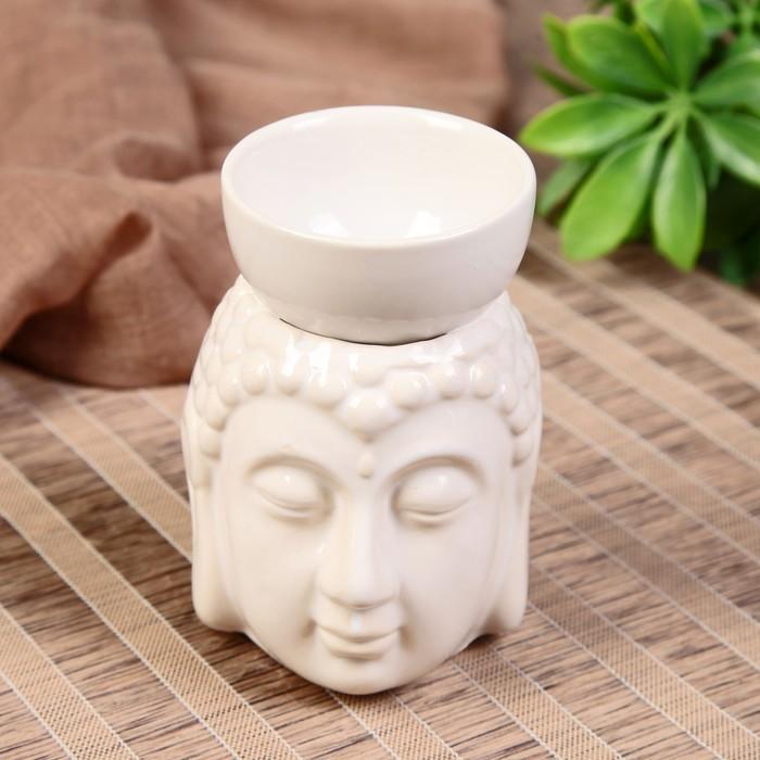 "Аромалампа керамика ""Будда с чашей на голове"" МИКС 11,5х8х9 см"