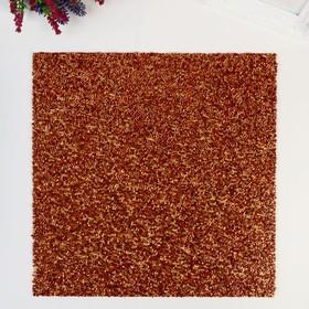 Кардсток с бисером Confetti American Crafts - Цвет Carrot