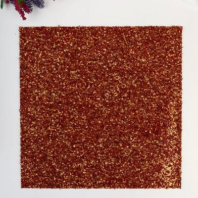 Кардсток с глиттером-мишуройi American Crafts - Цвет Carrot