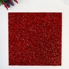 Кардсток с глиттером-мишуройi American Crafts - Цвет Crimson