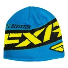 Шапка FXR Podium, синий, жёлтый