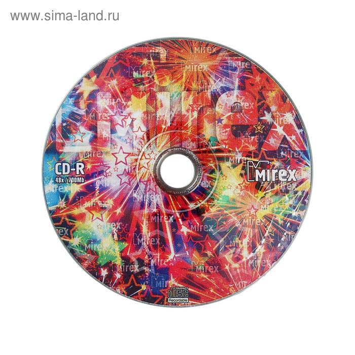 Диск CD-R Mirex Party, 48x, 700 Мб, спайка, 100 шт