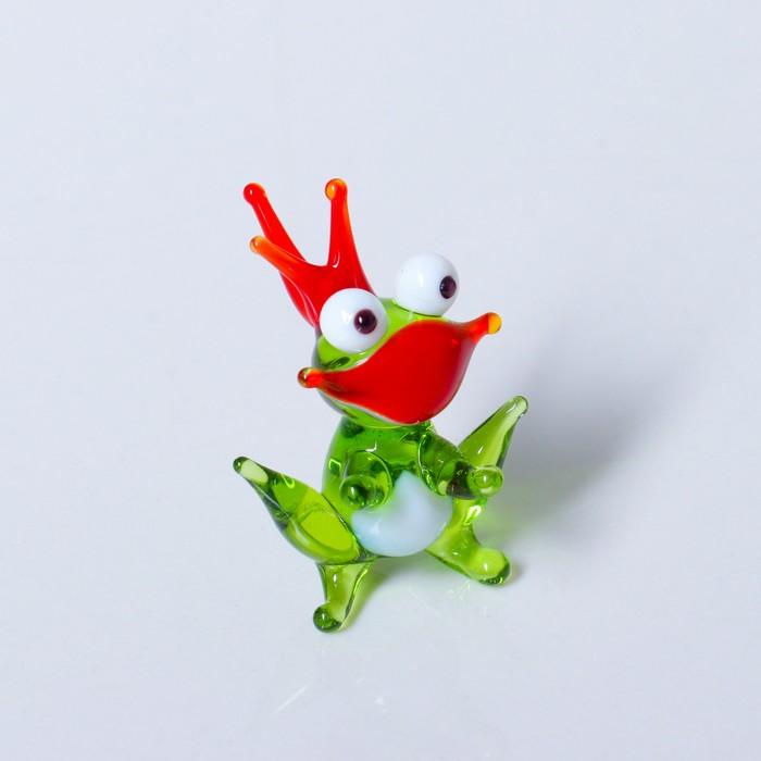 Сувенир из стекла Царевна лягушка