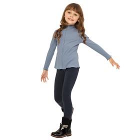 Блузка для девочек, рост 92 см, цвет деним Ош