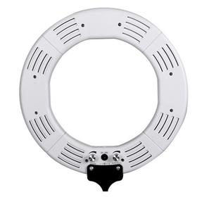 Кольцевая лампа OKIRA LED RING 336 CY, 28 Вт, d=35 см, + штатив, + штатив, белая
