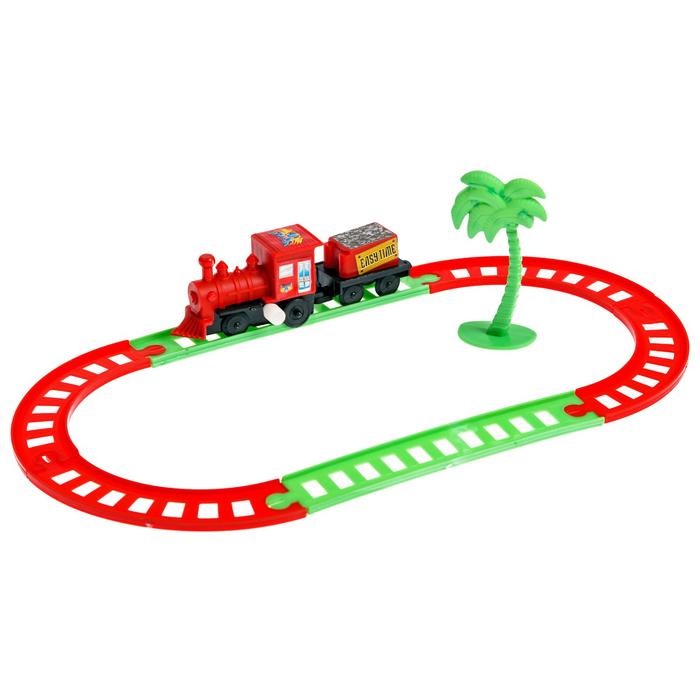Железная дорога «Мини поезд», заводная, в пакете