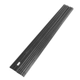 Пластиковые накладки на дно саней PolimerList СВП-180, 0,8×175×4 см, комплект 9 шт., крепёж Ош