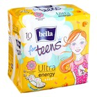 Прокладки супертонкие Bella forTeens Energy Deo 10 шт.