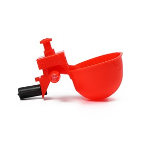 Поилка чашечная для домашней птицы, под трубку 10 мм
