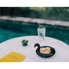 Миска сервировочная керамическая Floatie Black Swan - Фото 2