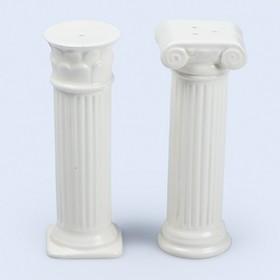 Солонка и перечница керамические Hestia, белые