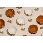Солонка и перечница керамические Hestia, белые - Фото 2