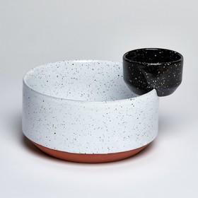 Чаша сервировочная Eclipse, для салата и соуса, 24 см