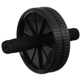 Ролик для пресса 2 колеса, цвета МИКС Ош