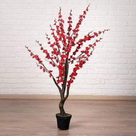 Дерево искусственное 'Сакура' 110 см, красный Ош