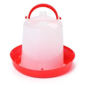 Поилка для домашней птицы, 1 л, пластик Ош
