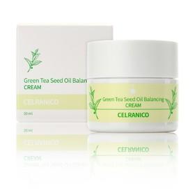 Балансирующий крем для лица Celranico, с семенами зелёного чая, 50 мл