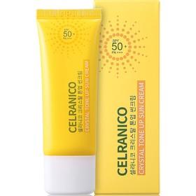 Солнцезащитный крем для лица Celranico SPF50, выравнивающий тон кожи, 40 мл