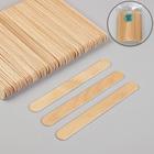 Шпатель для депиляции, деревянный, 15 × 1,7 см, 100 шт