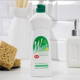 Крем чистящий Rocket Soap «Белизна и свежесть», 400 г