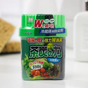 Поглотитель неприятных запахов для холодильника Kokubo «Сила угля и зеленого чая», 180 г