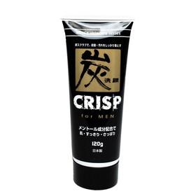 Скраб для лица Trust Crisp, мужской, отшелушивающий, с активированным углем, 120 г