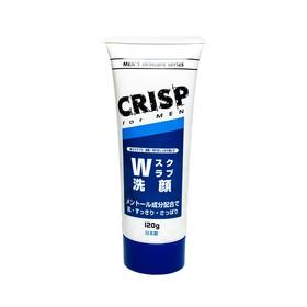Скраб для лица Trust W Crisp, мужской, отшелушивающий, с ментолом, 120 г
