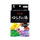 Соль для ванн Kiyou Jochugiku «Горячие источники», ароматы в ассортименте, 5 шт. по 25 г
